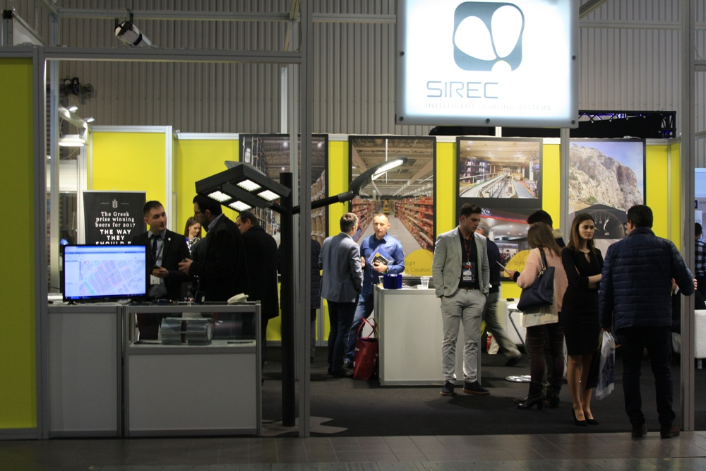 "Sirecled Hellas: 26th International Fair of Lighting Equipment ""Light 2018"" in Warsaw"
