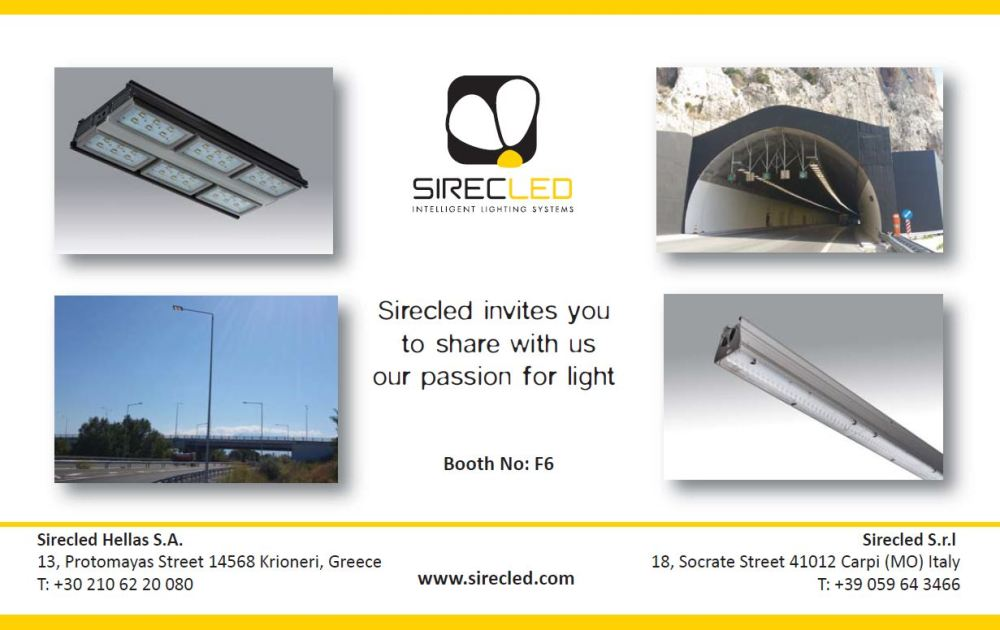 Sirecled invites you to share with us the passion for light